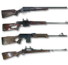 гладкоствольное охотничье оружие